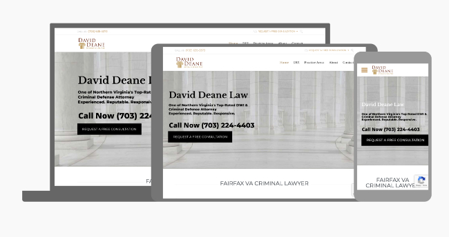 David Dean Law Laywer Norther Virginia