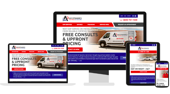 Website Design for HVAC