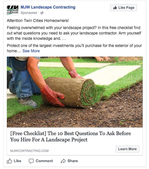 Social Media for Landscaping