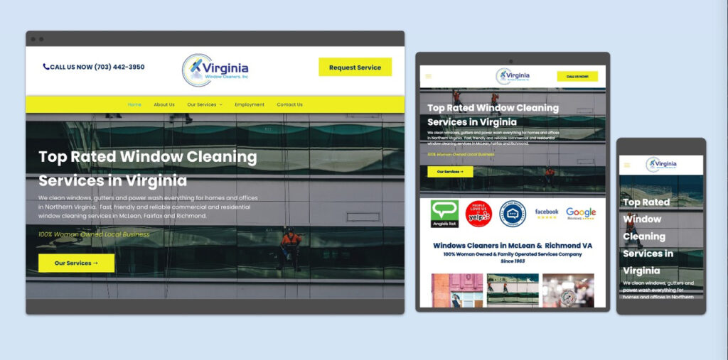 Virginia Window Cleaning Cleaners