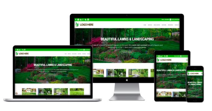 Website Design for Landscape