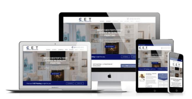 Website Design for Painters