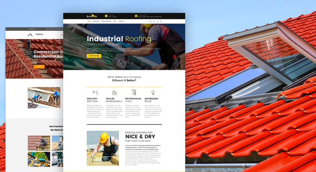 Website Design for Roofers