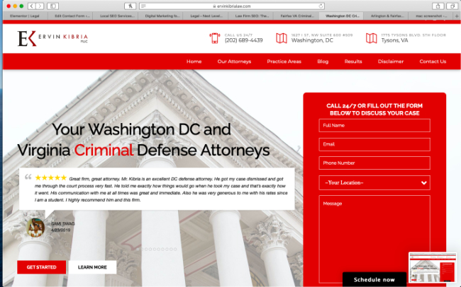 Websites for Law Firms
